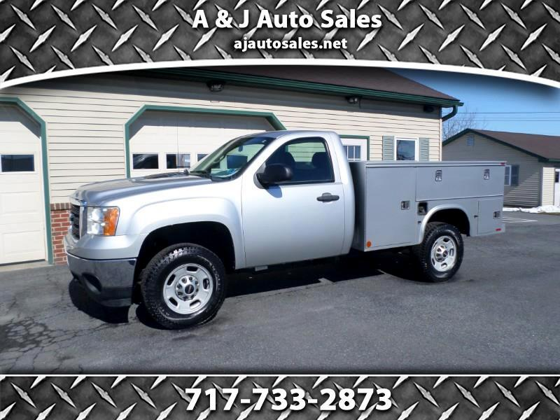 GMC Sierra 2500HD Work Truck Long Box 4WD 2011