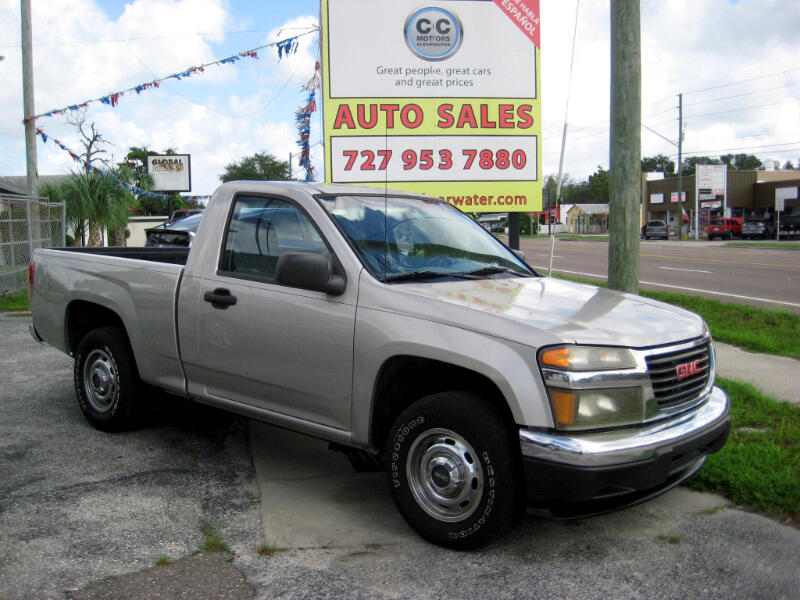 GMC Canyon Work Truck 2WD 2008