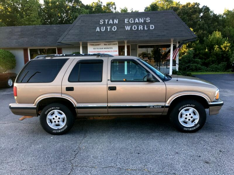 used 1996 chevrolet blazer 4 door 4wd ls for sale in greer sc 29650 stan egan s auto world 1996 chevrolet blazer 4 door 4wd ls