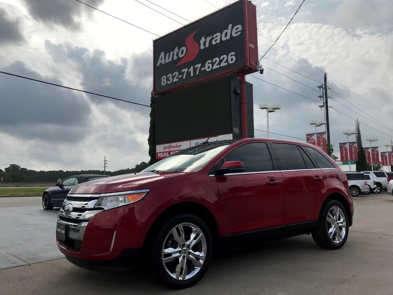 Ford Edge 4dr Limited FWD 2012