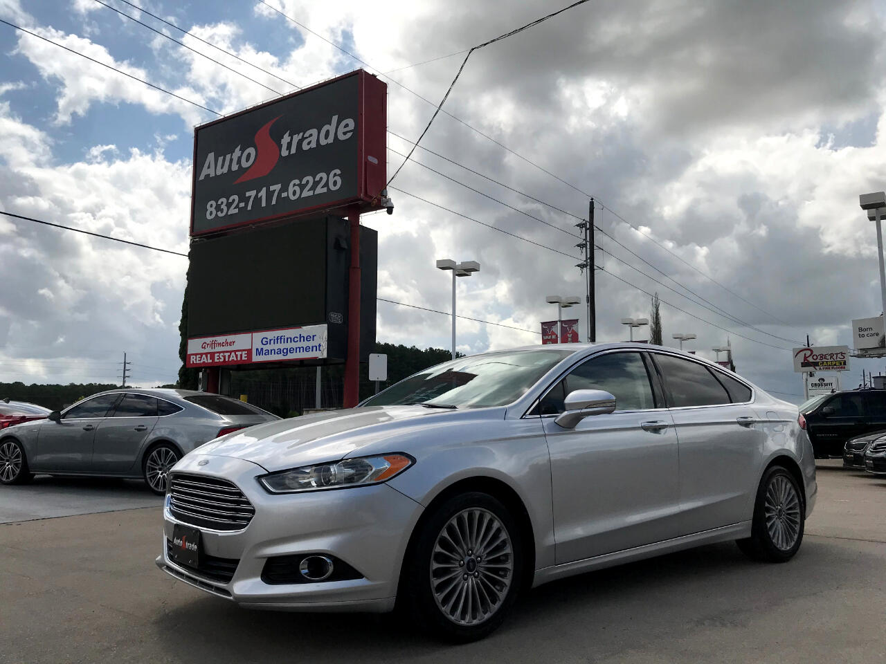 Ford Fusion 4dr Sdn Titanium FWD 2016
