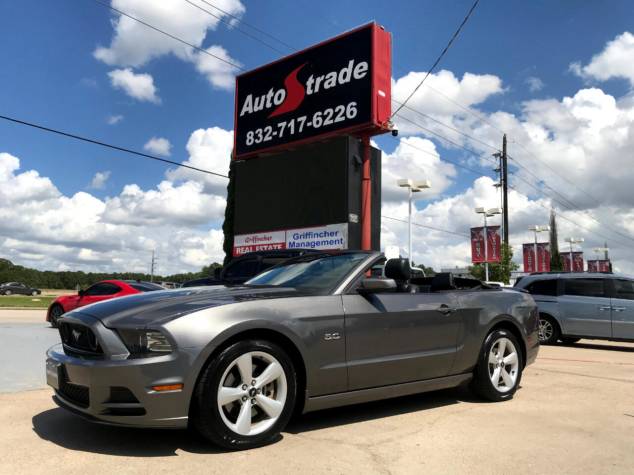 Ford Mustang 2dr Conv GT Premium 2013