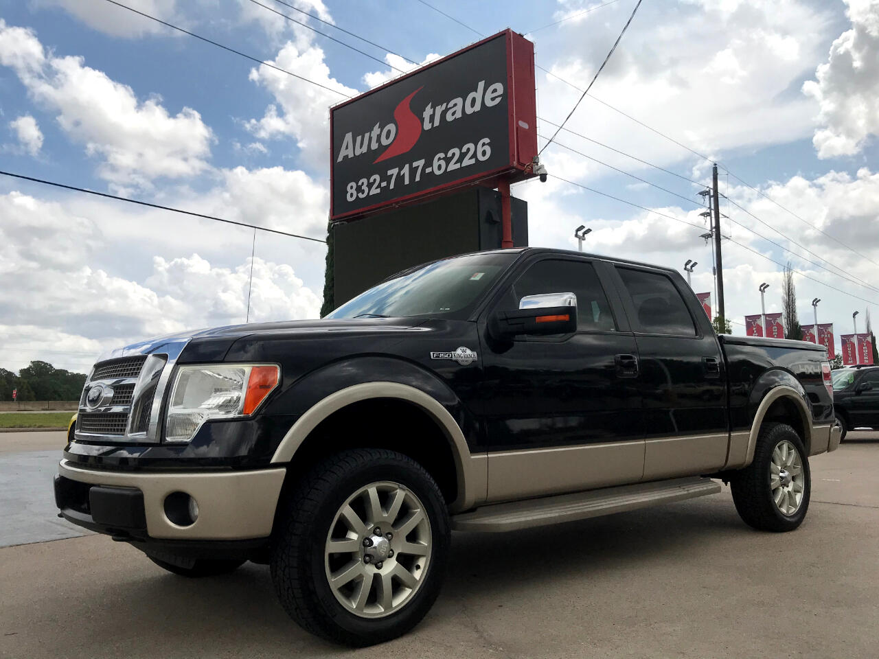"Ford F-150 4WD SuperCrew 145"" King Ranch 2010"