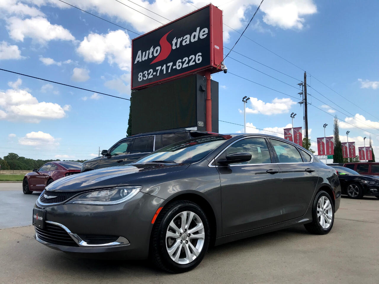 Chrysler 200 4dr Sdn Limited FWD 2016