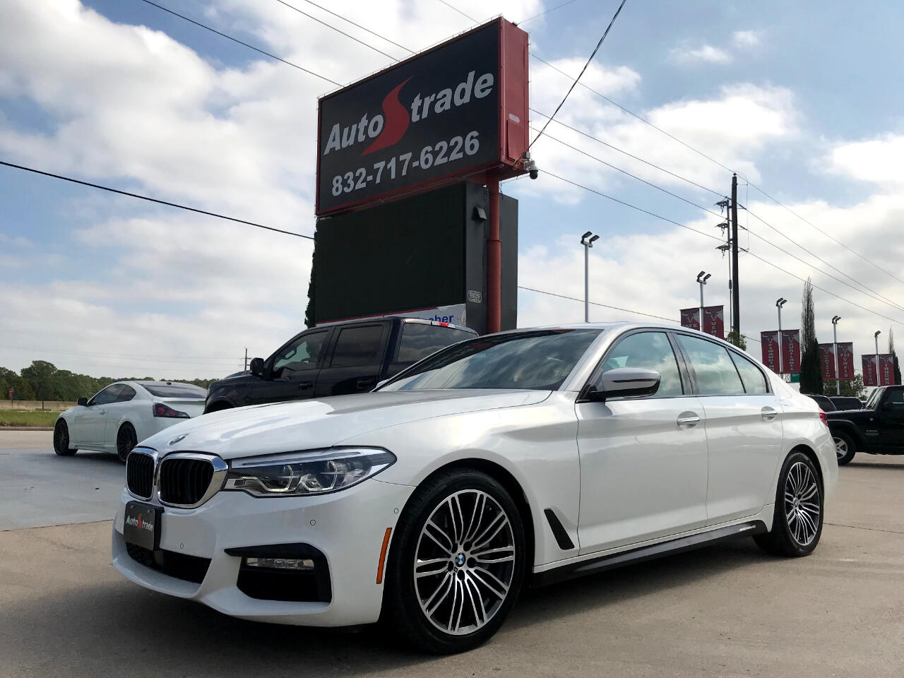 BMW 5 Series 530i Sedan 2018