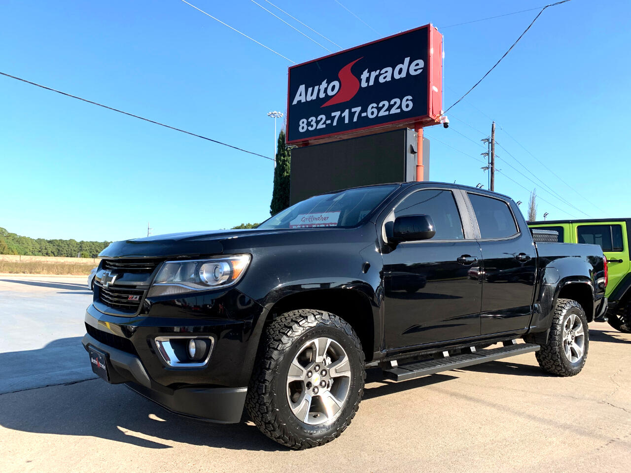 "Chevrolet Colorado 2WD Crew Cab 128.3"" Z71 2016"