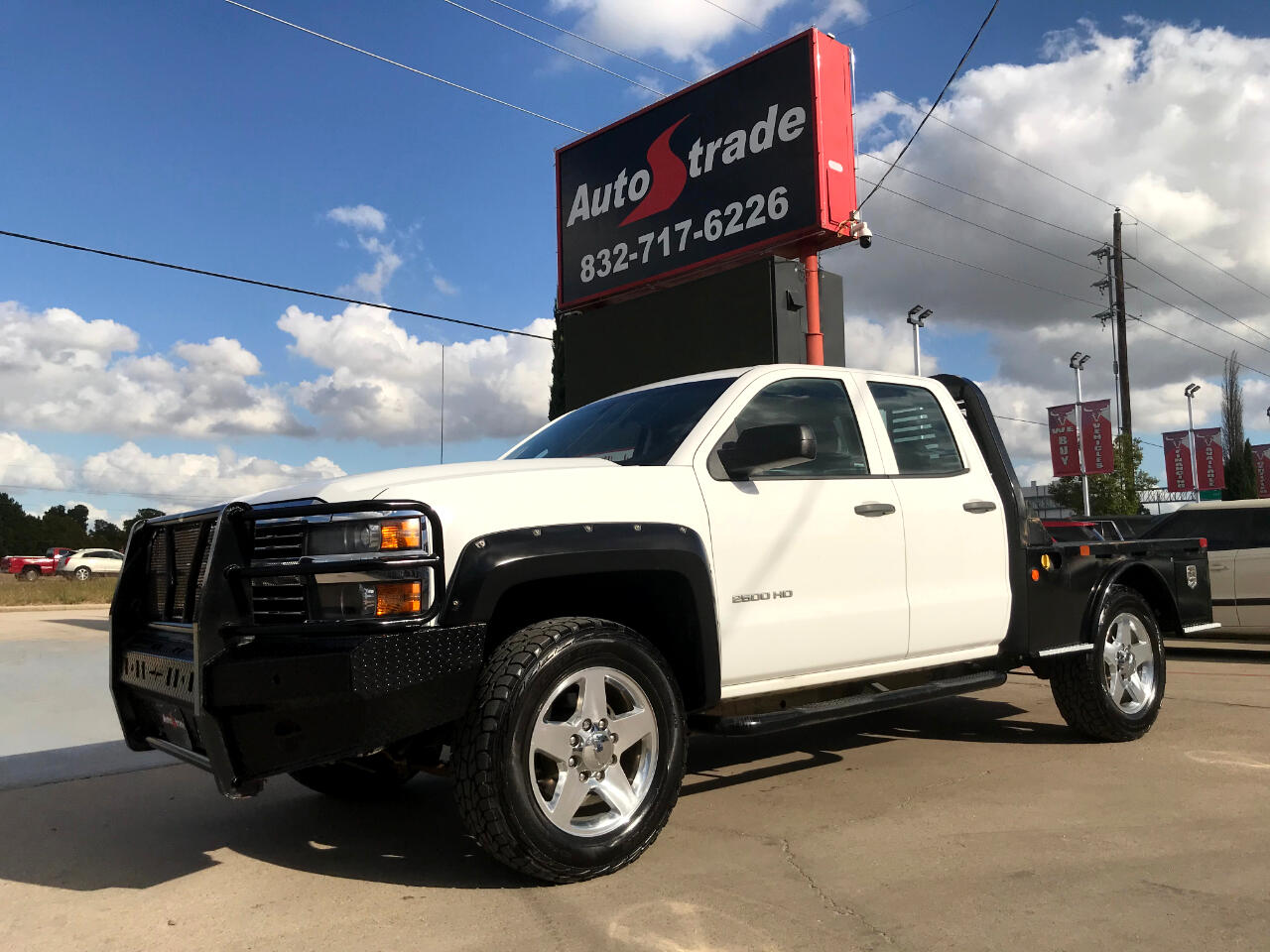 "Chevrolet Silverado 2500HD 2WD Double Cab 144.2"" Work Truck 2015"