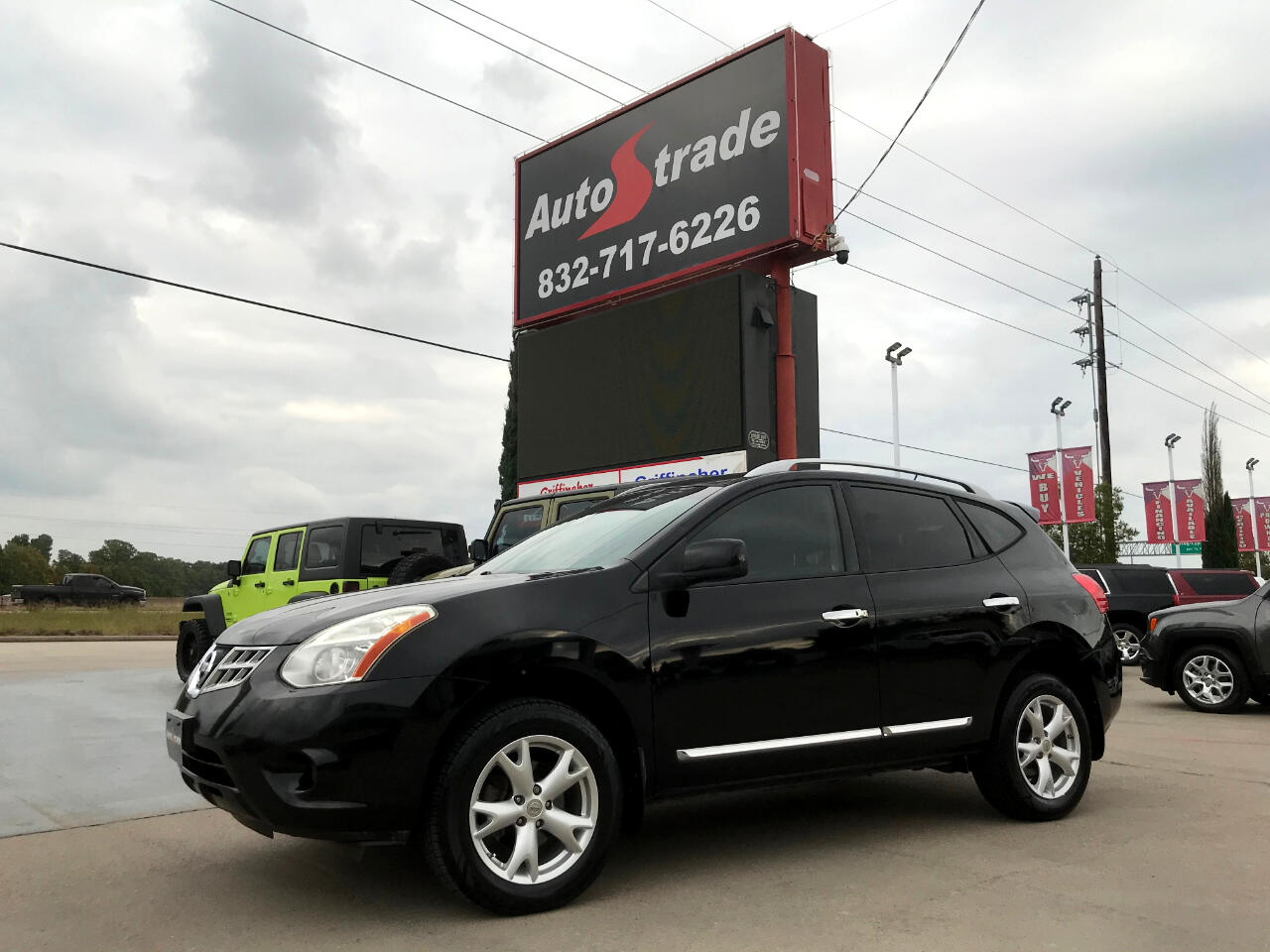 Nissan Rogue AWD 4dr SV 2011