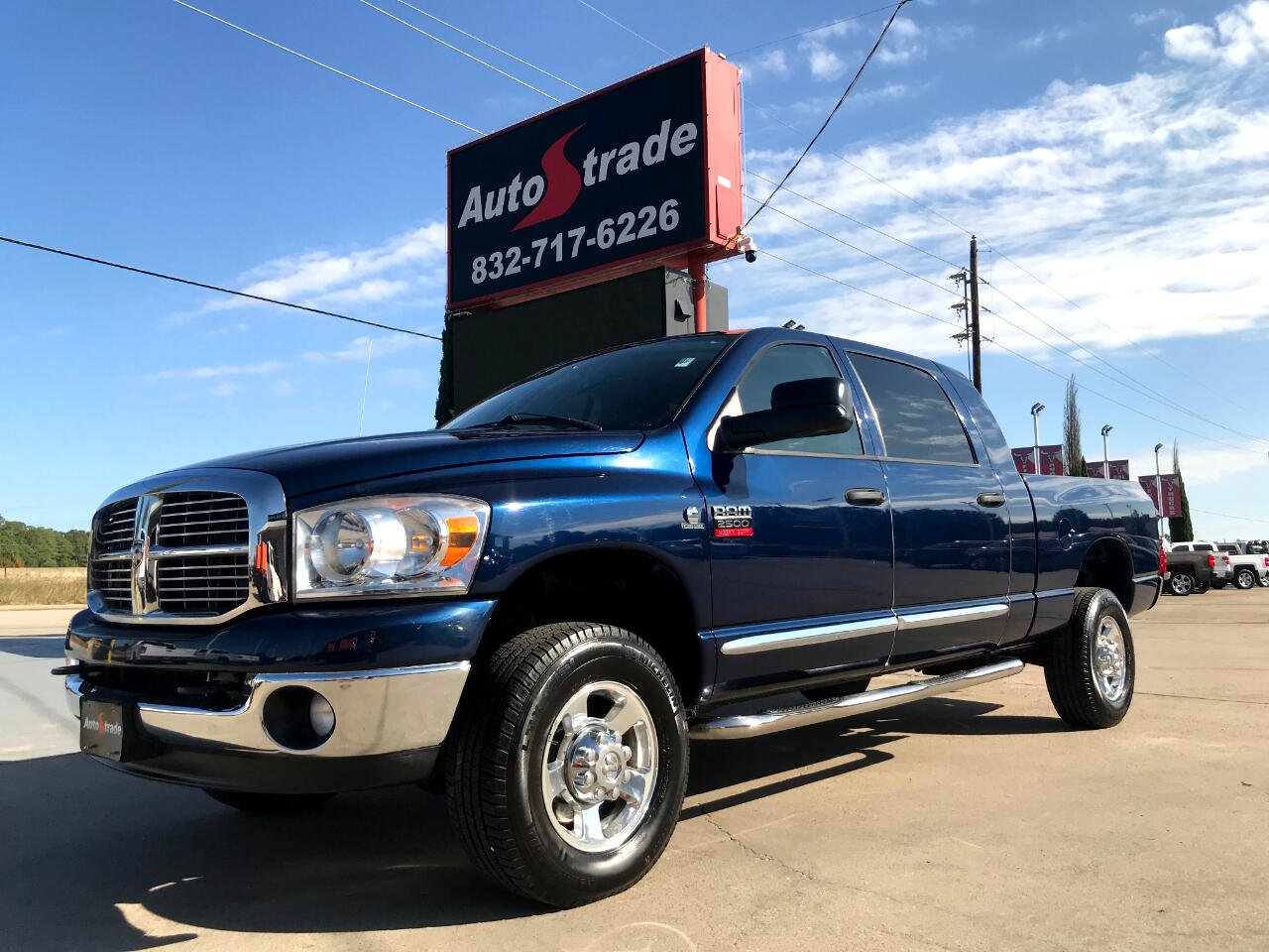 Used 2007 Dodge Ram 2500 4wd Mega Cab 160 5 Slt For Sale In Tomball Tx 77375 Autostrade