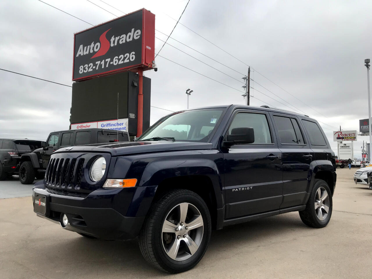 Jeep Patriot 4WD 4dr High Altitude Edition 2016