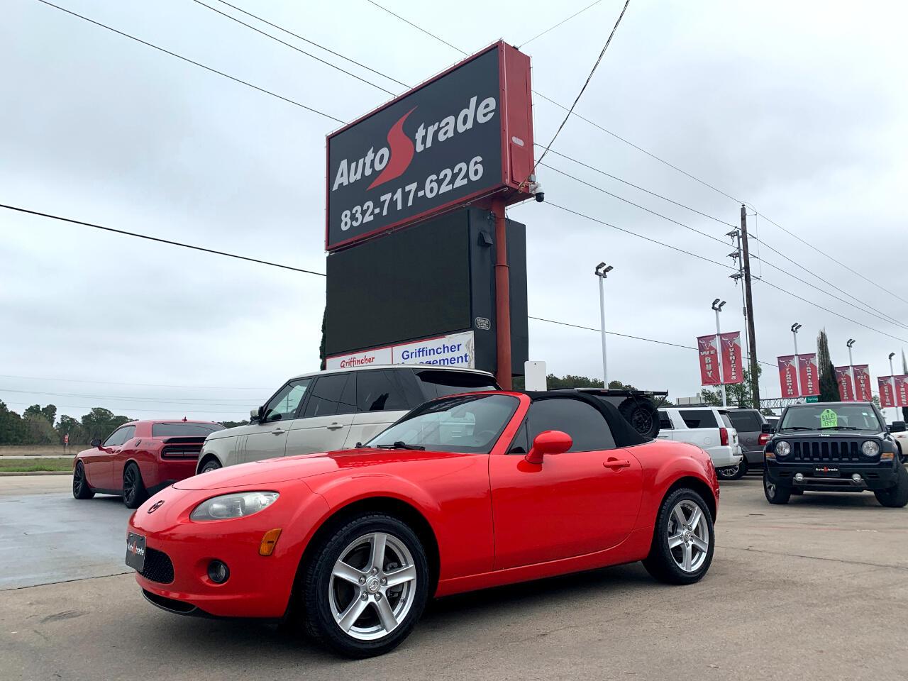 Mazda MX-5 Miata 2dr Conv Auto Sport 2008