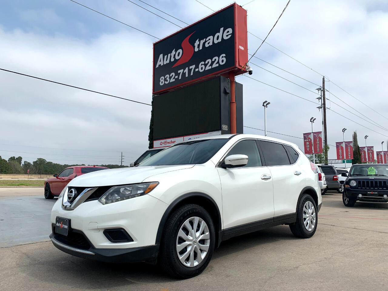 Nissan Rogue FWD 4dr S 2014