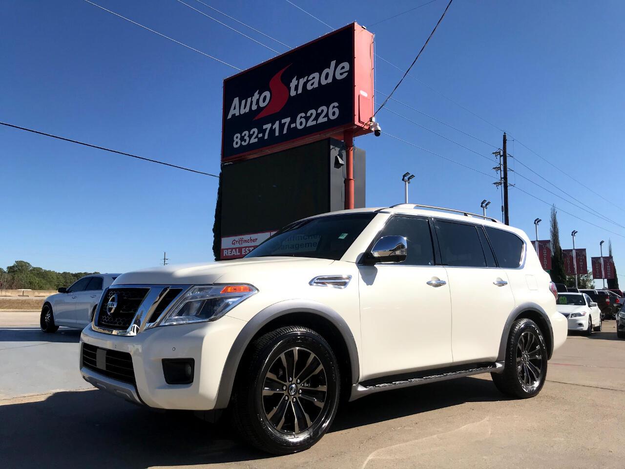 Nissan Armada 4x2 Platinum 2017