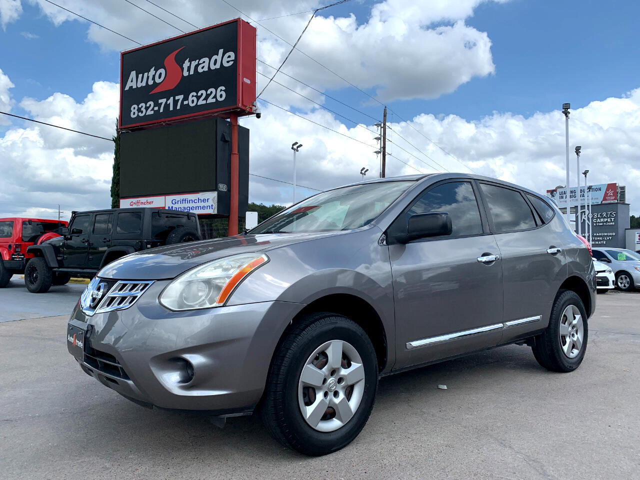 Nissan Rogue FWD 4dr S 2012
