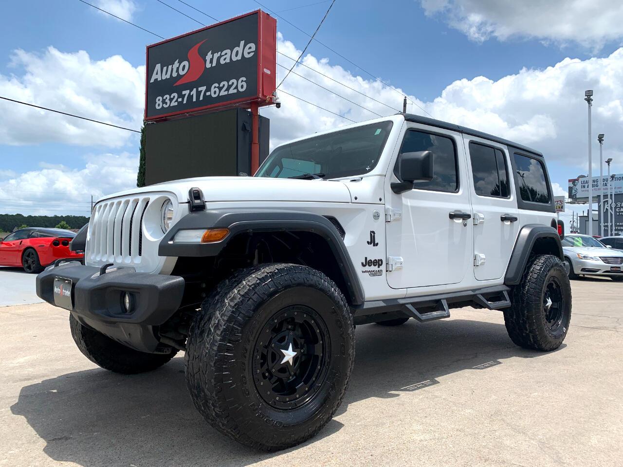 Jeep Wrangler Unlimited Sport S 4x4 2018