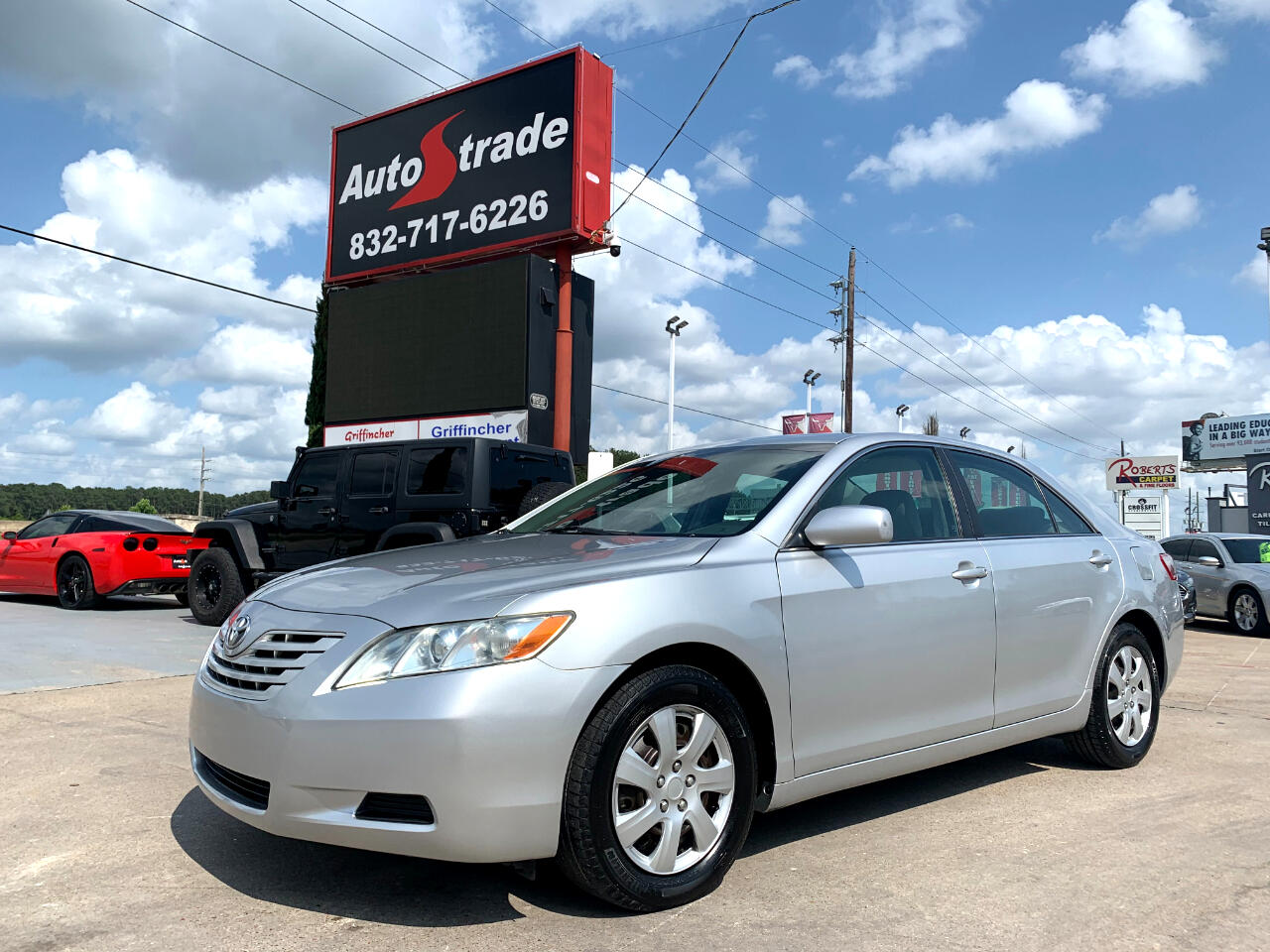 Toyota Camry 4dr Sdn I4 Man LE (Natl) 2008