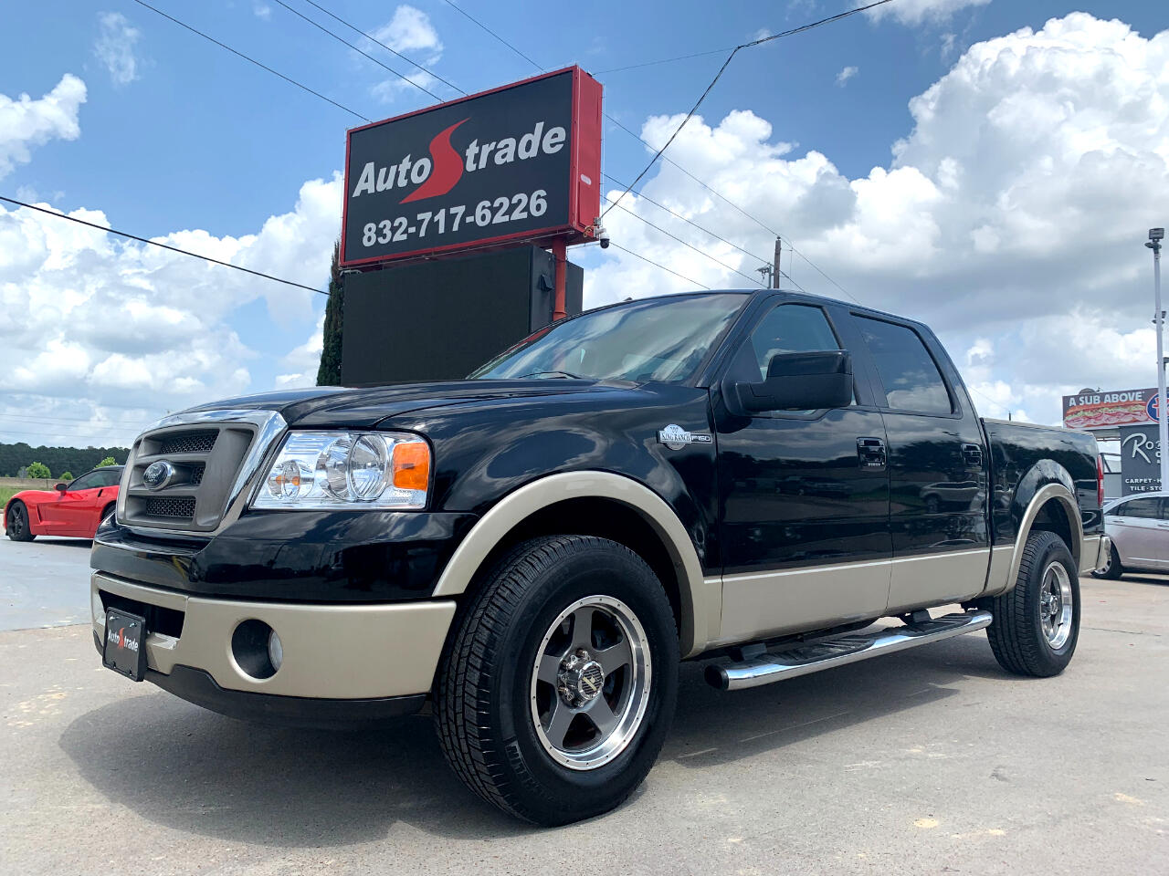 """Ford F-150 2WD SuperCrew 139"""" King Ranch 2007"""