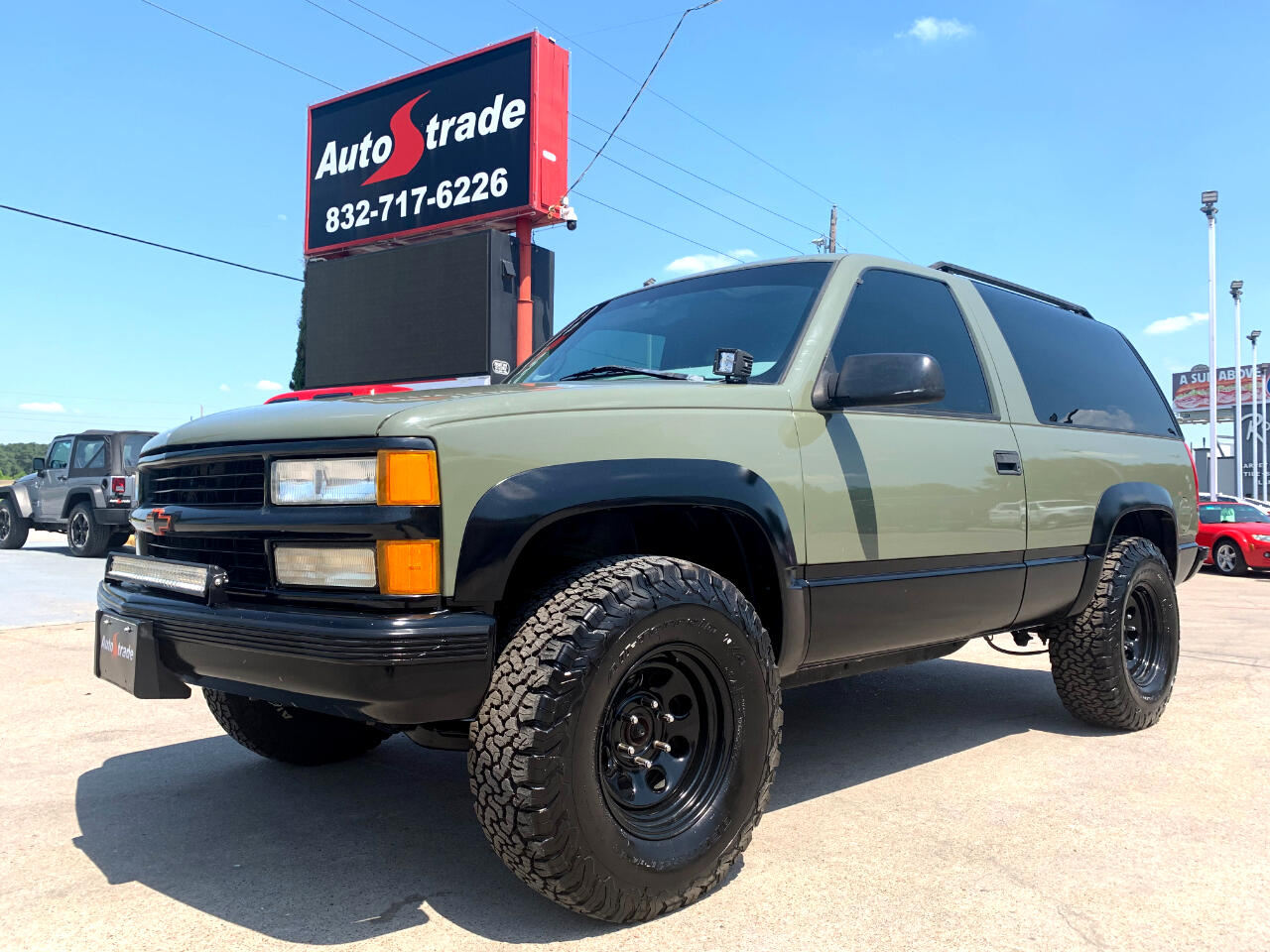 Chevrolet Tahoe 1500 2dr 4WD 1997