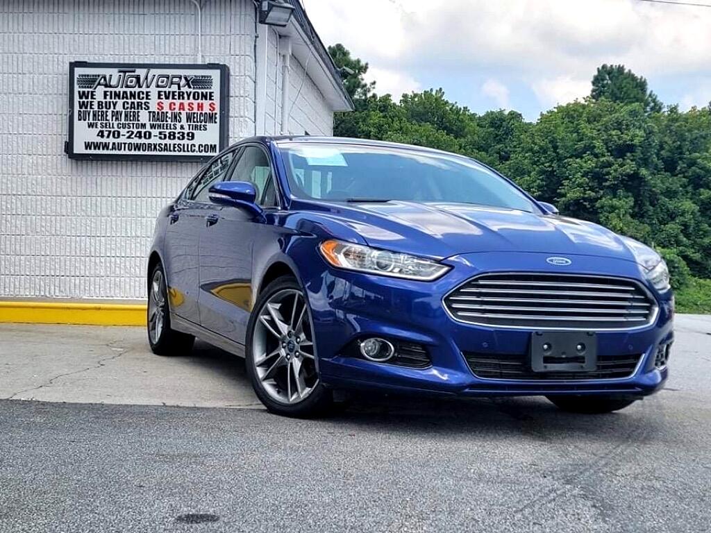 Ford Fusion 4dr Sdn Titanium AWD 2014