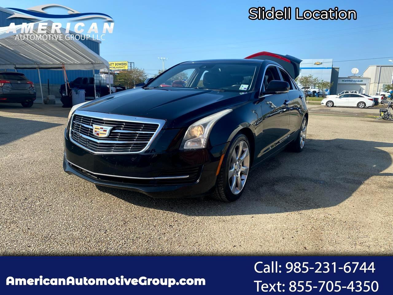 Cadillac ATS 2.0L Luxury RWD 2015