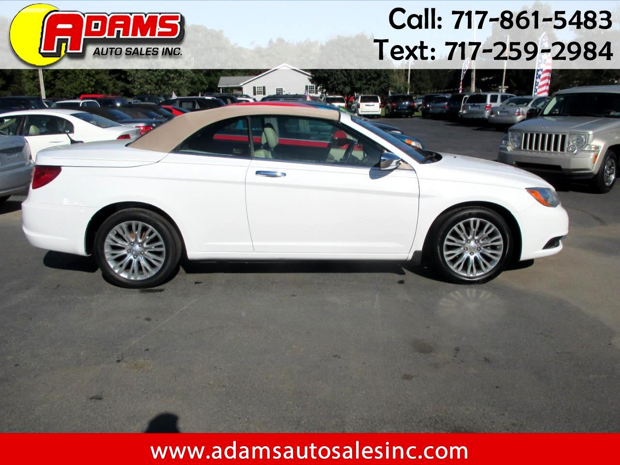 2012 Chrysler 200 2dr Conv Limited