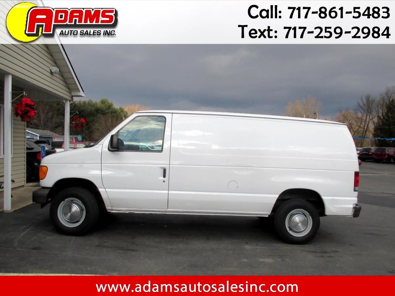 2005 Ford Econoline Cargo Van E-250