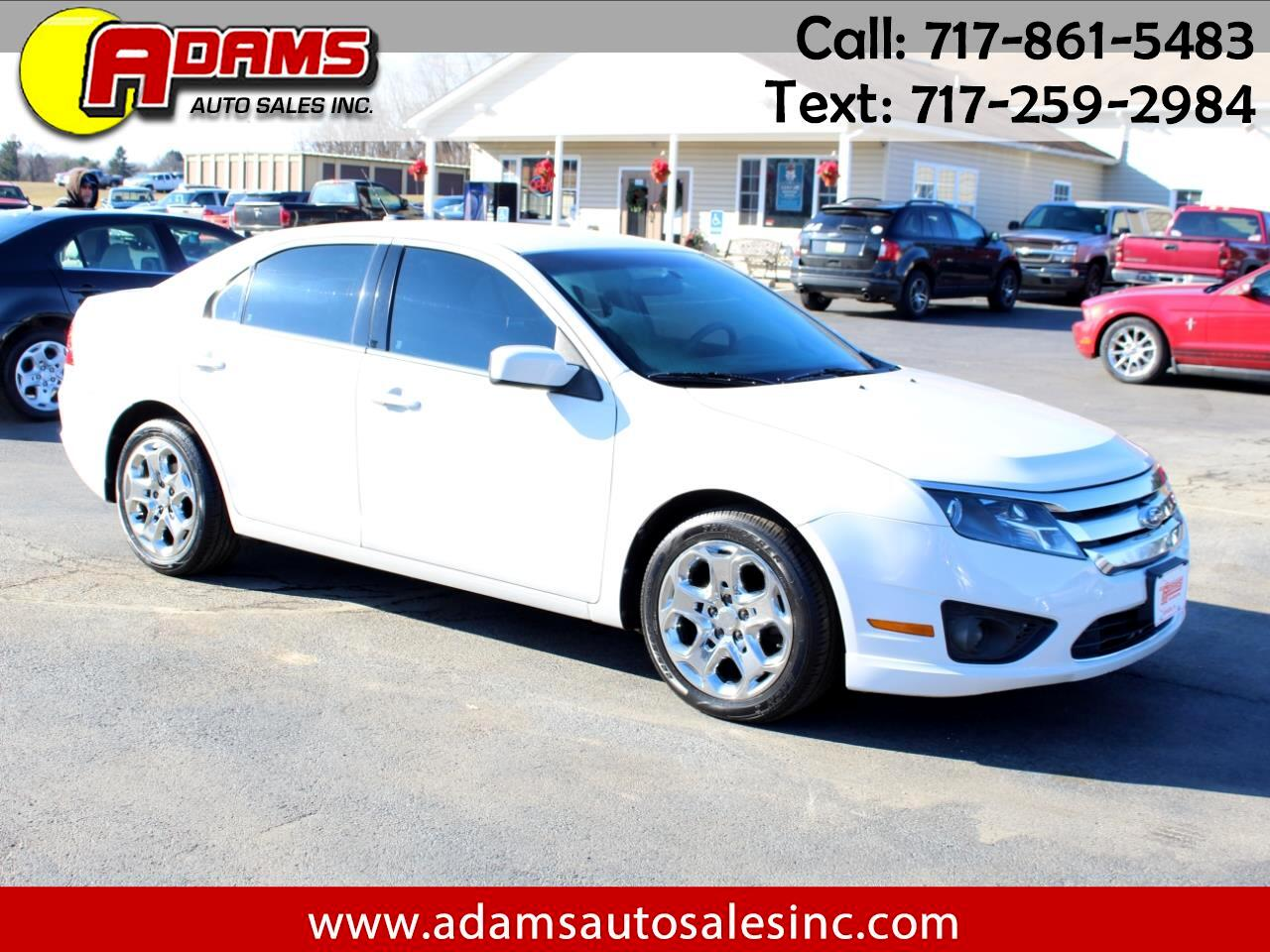 2011 Ford Fusion 4dr Sdn SE FWD
