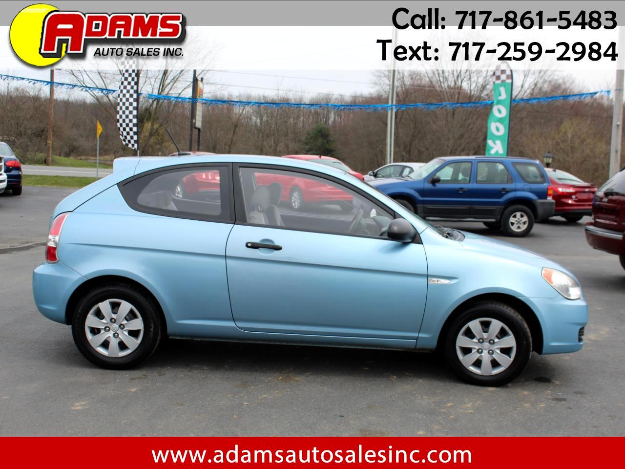 2009 Hyundai Accent 3dr HB Man GS w/Popular Pkg