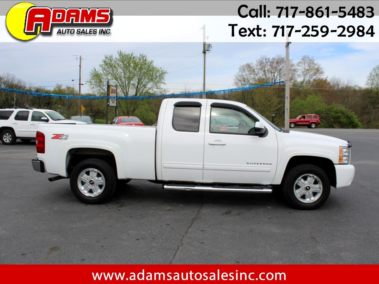 2010 Chevrolet Silverado 1500 Z71 Ext. Cab Short Bed 4WD