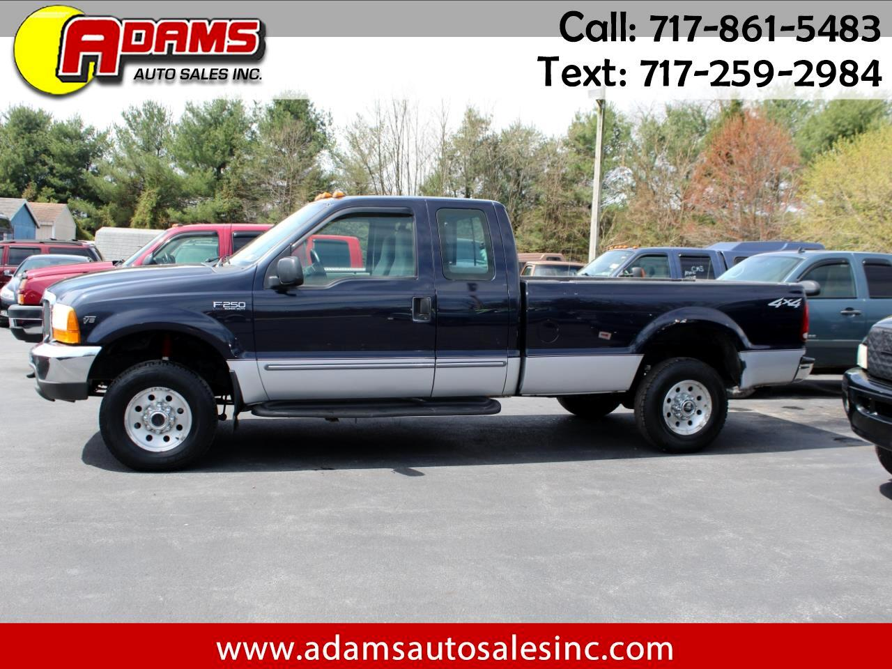 """2000 Ford Super Duty F-250 Supercab 142"""" Lariat 4WD"""