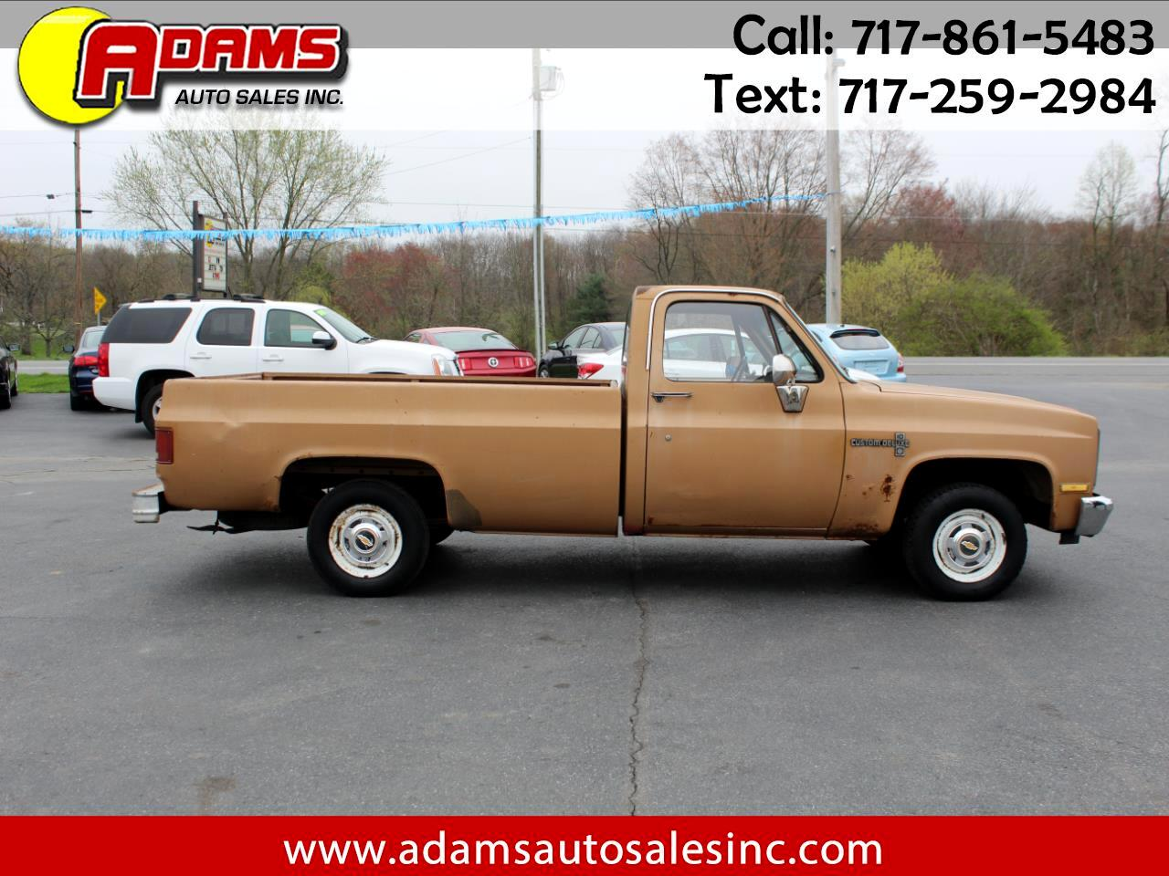 "1986 Chevrolet Pickup C10 Stepside 117.5"" WB"