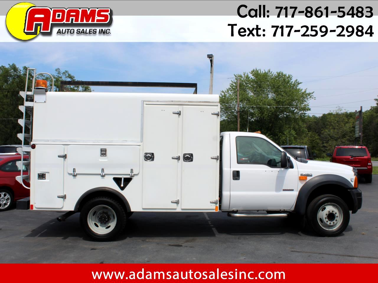 "2006 Ford Super Duty F-450 DRW Reg Cab 165"" WB 84"" CA XL"