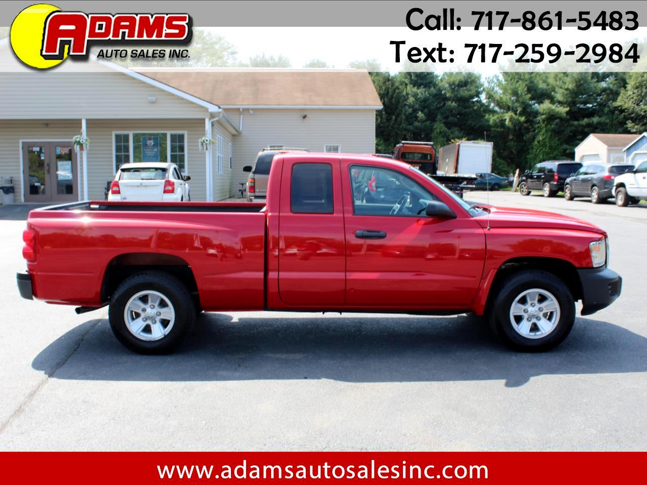 2008 Dodge Dakota 2WD Ext Cab SXT