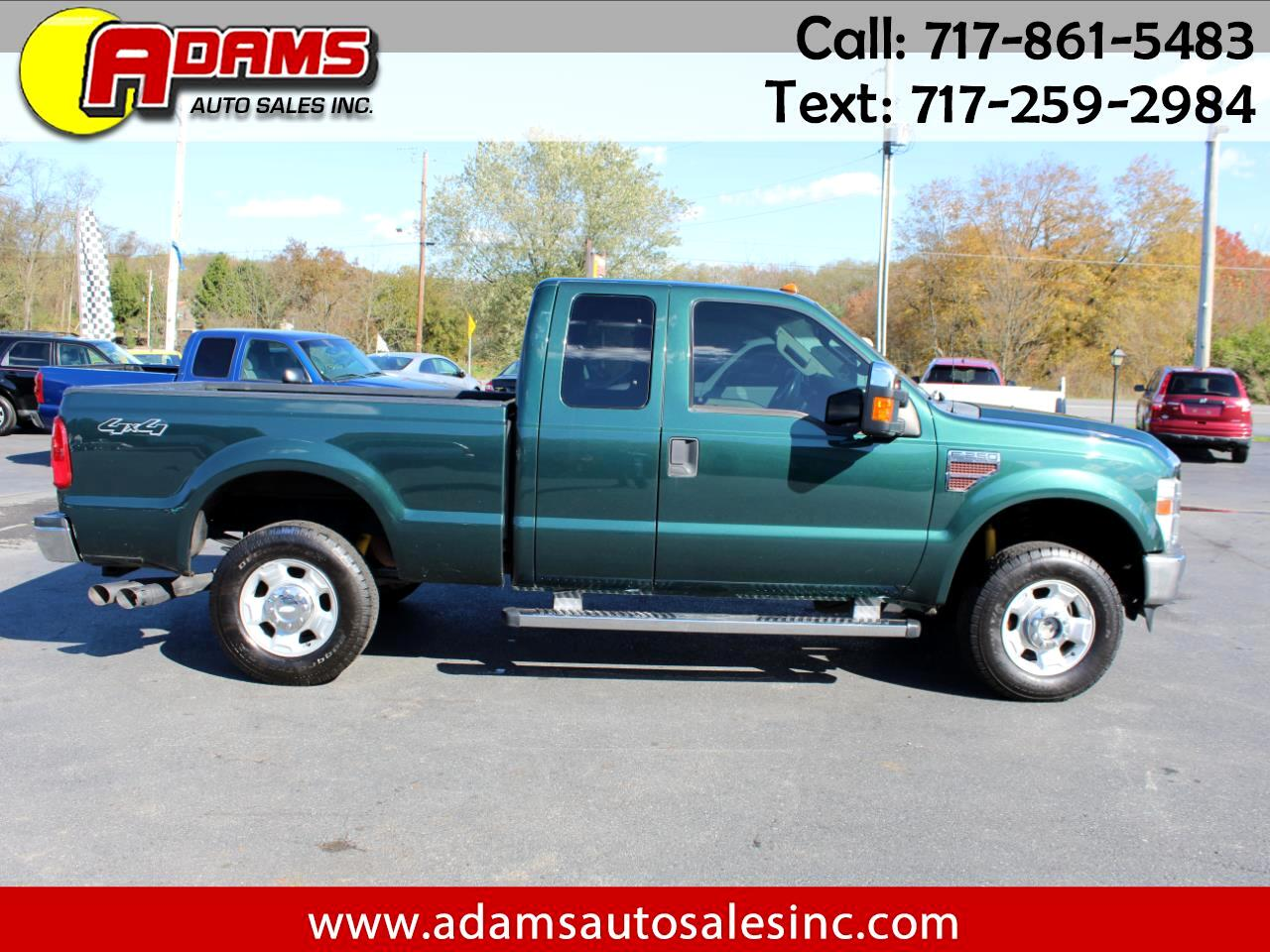 "Ford Super Duty F-250 SRW 4WD SuperCab 142"" XLT 2010"