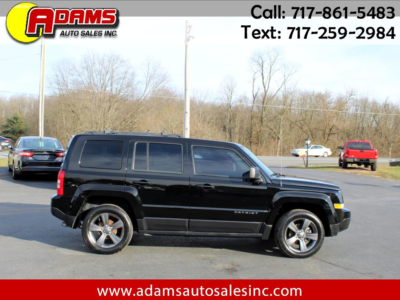 Jeep Patriot FWD 4dr High Altitude 2014