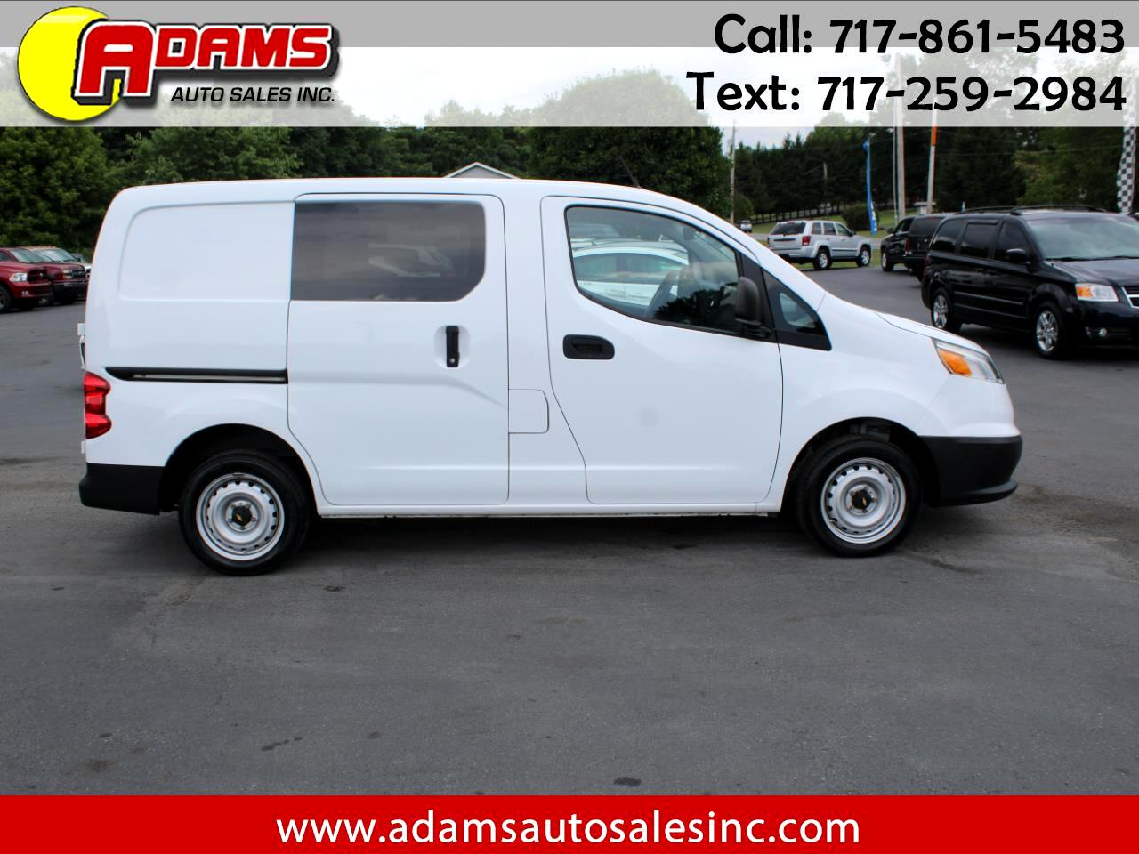 "Chevrolet City Express Cargo Van FWD 115"" LT 2016"