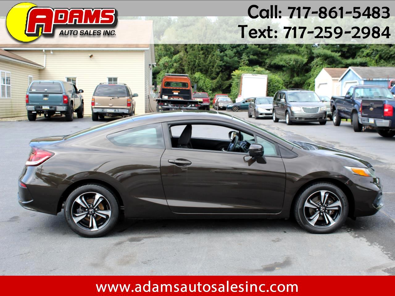 Honda Civic Coupe 2dr CVT EX 2014