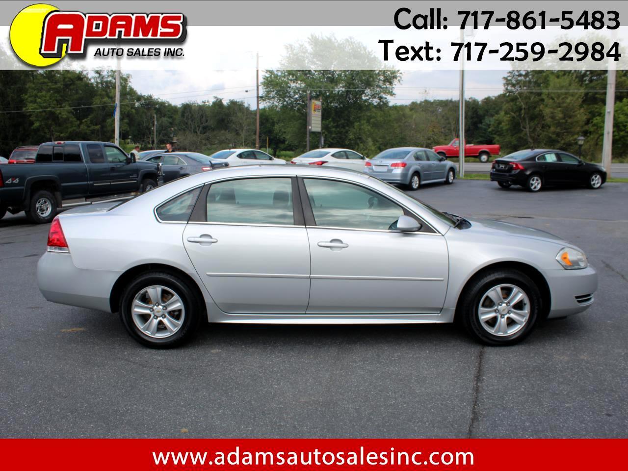 Chevrolet Impala Limited 4dr Sdn LS Fleet 2014