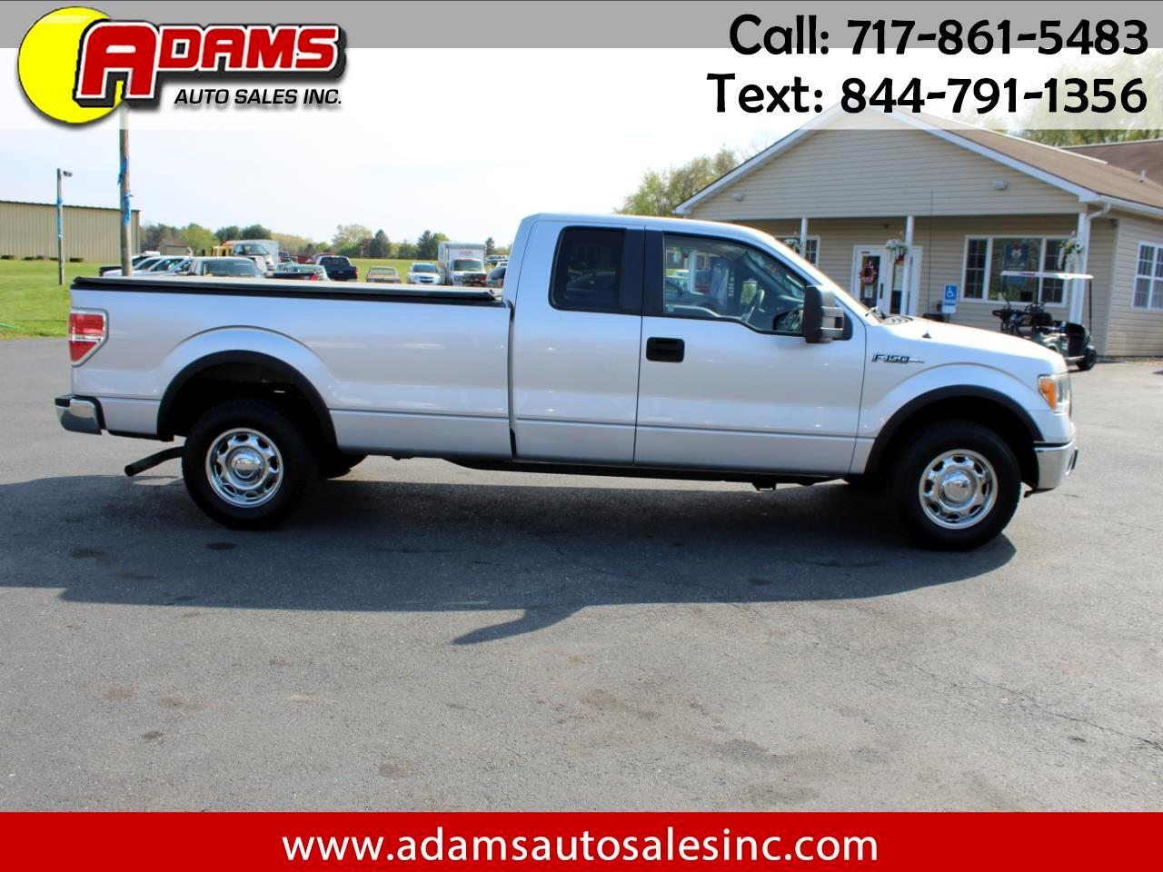 "Ford F-150 2WD SuperCab 163"" XLT w/HD Payload Pkg 2010"
