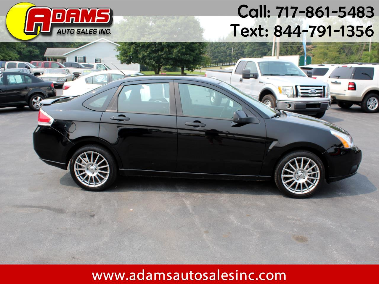 Ford Focus 4dr Sdn SES 2009