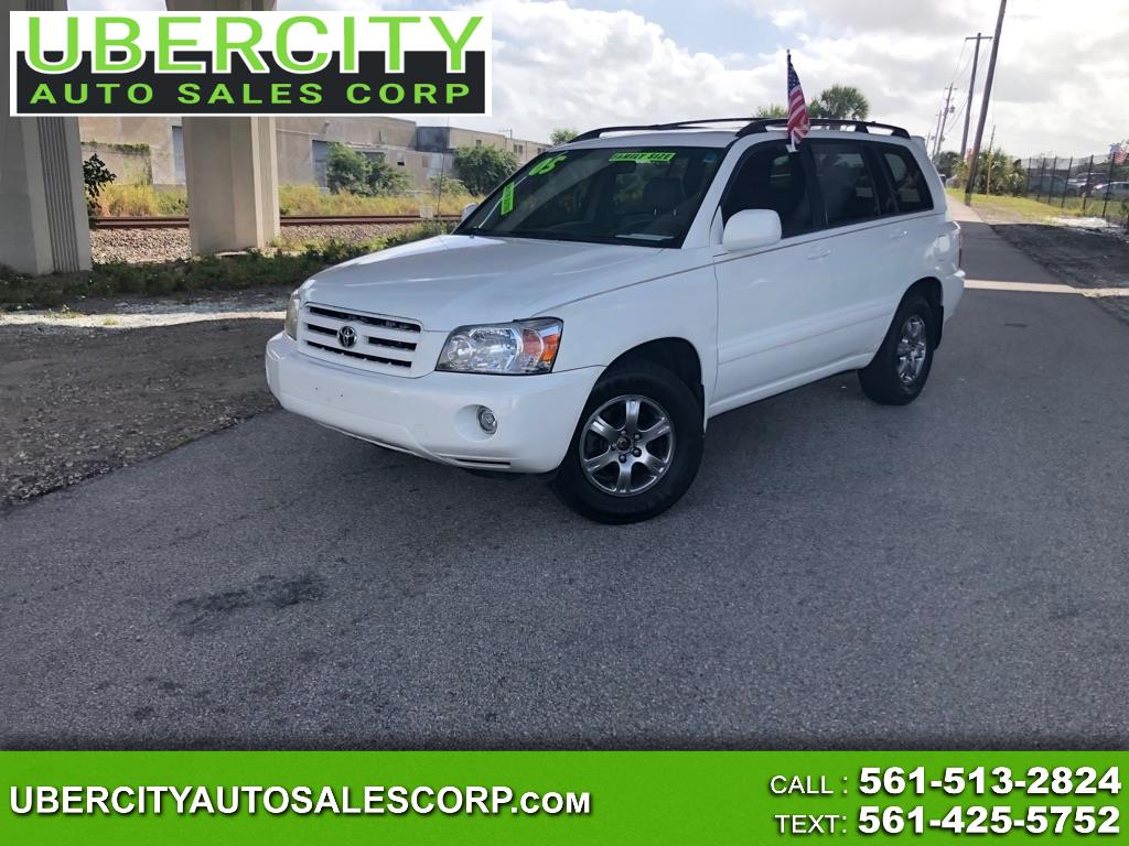 Toyota Highlander V6 2WD with 3rd-Row Seat 2005