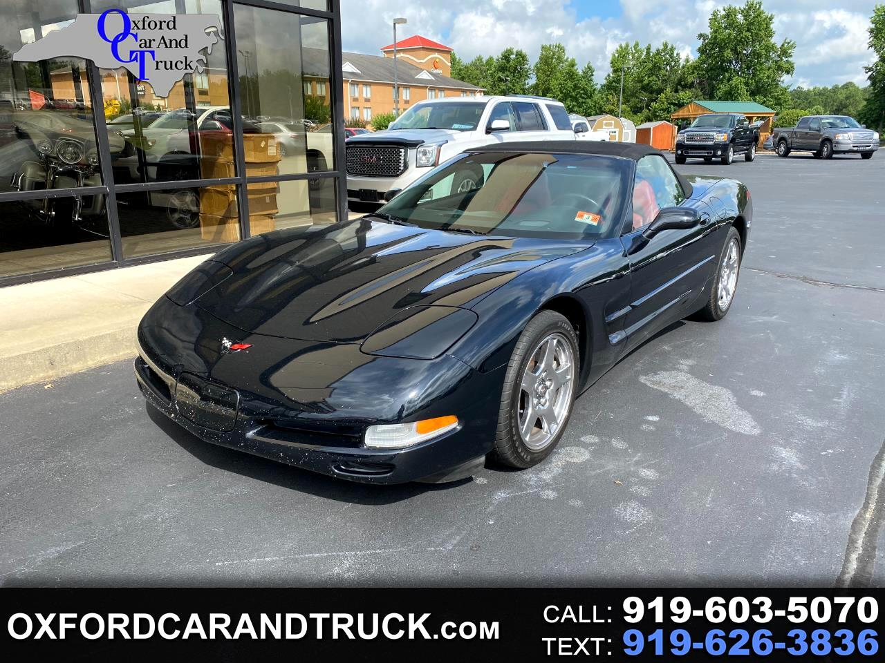 Chevrolet Corvette 2dr Convertible 2001