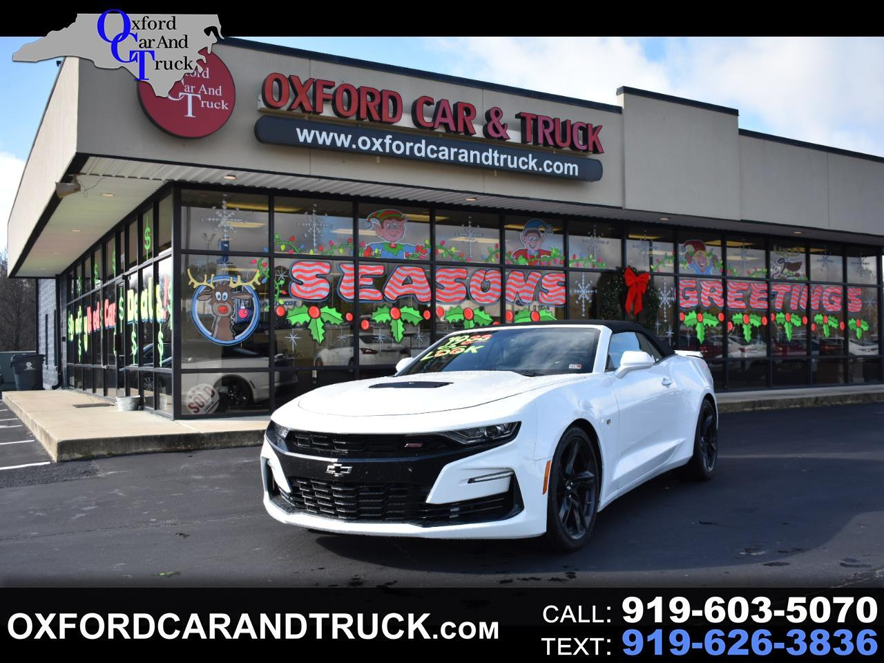 Chevrolet Camaro 2dr Conv 2SS 2019