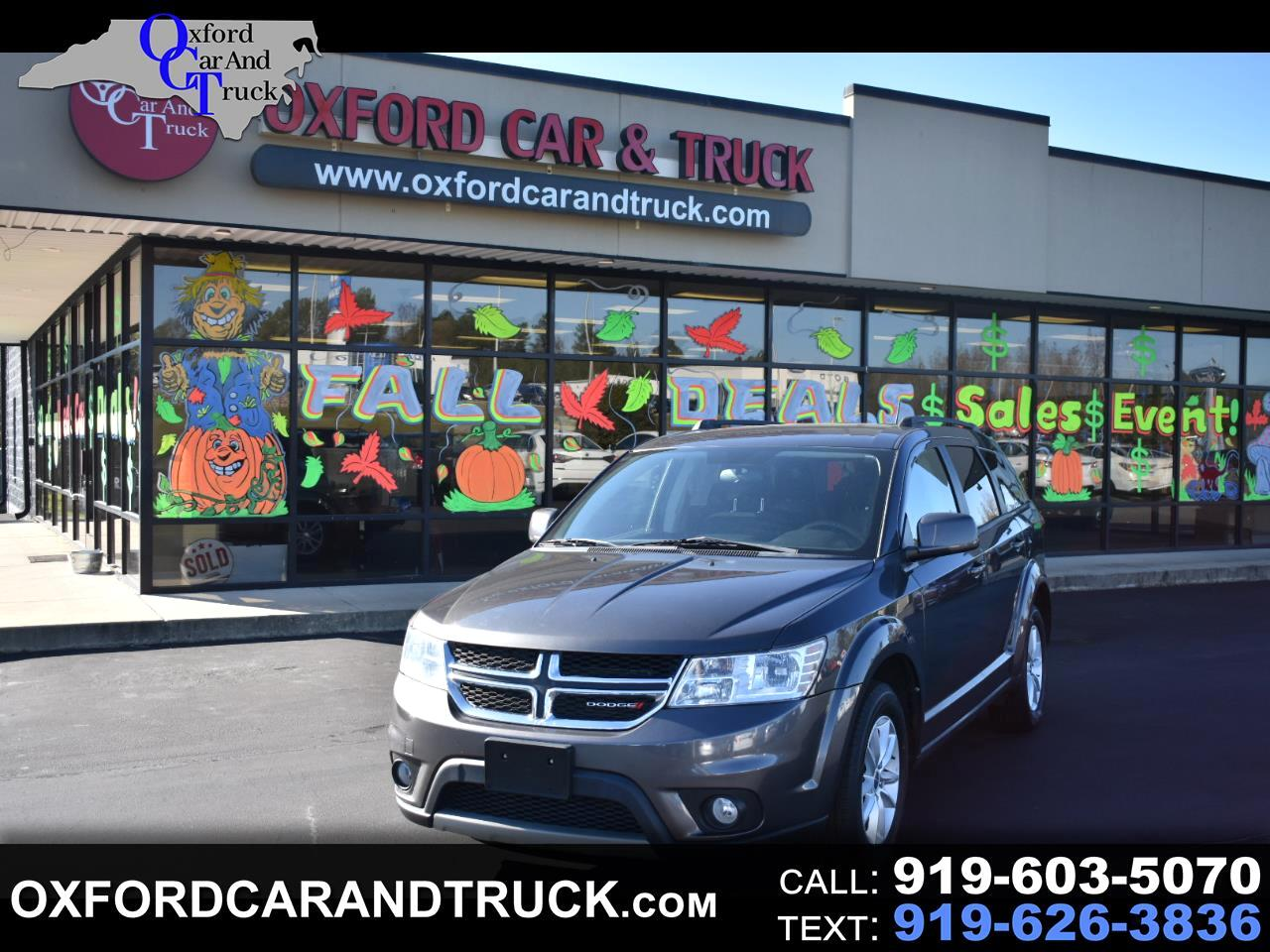 Dodge Journey SXT FWD 2017