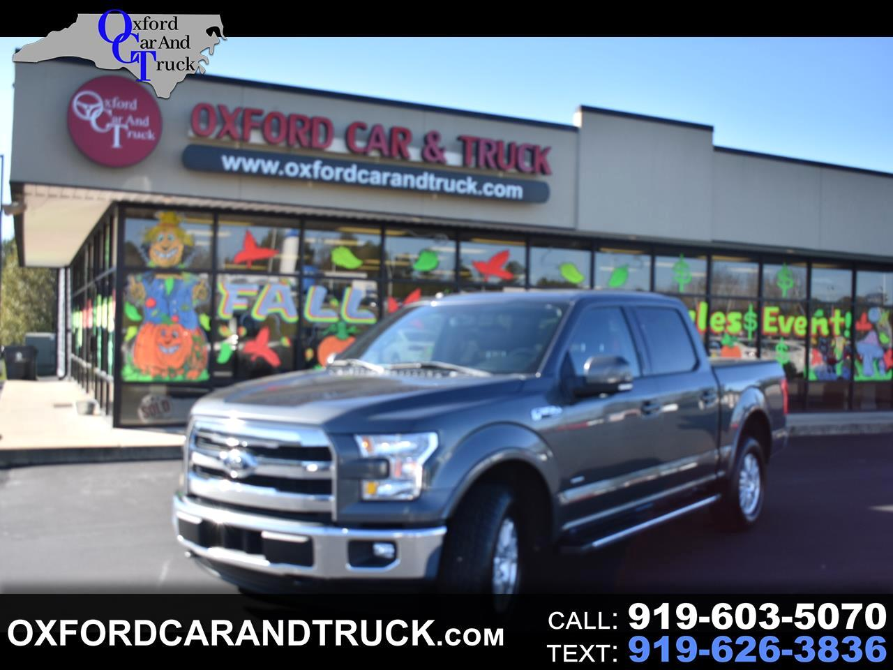 "Ford F-150 4WD SuperCrew 139"" Lariat 2017"