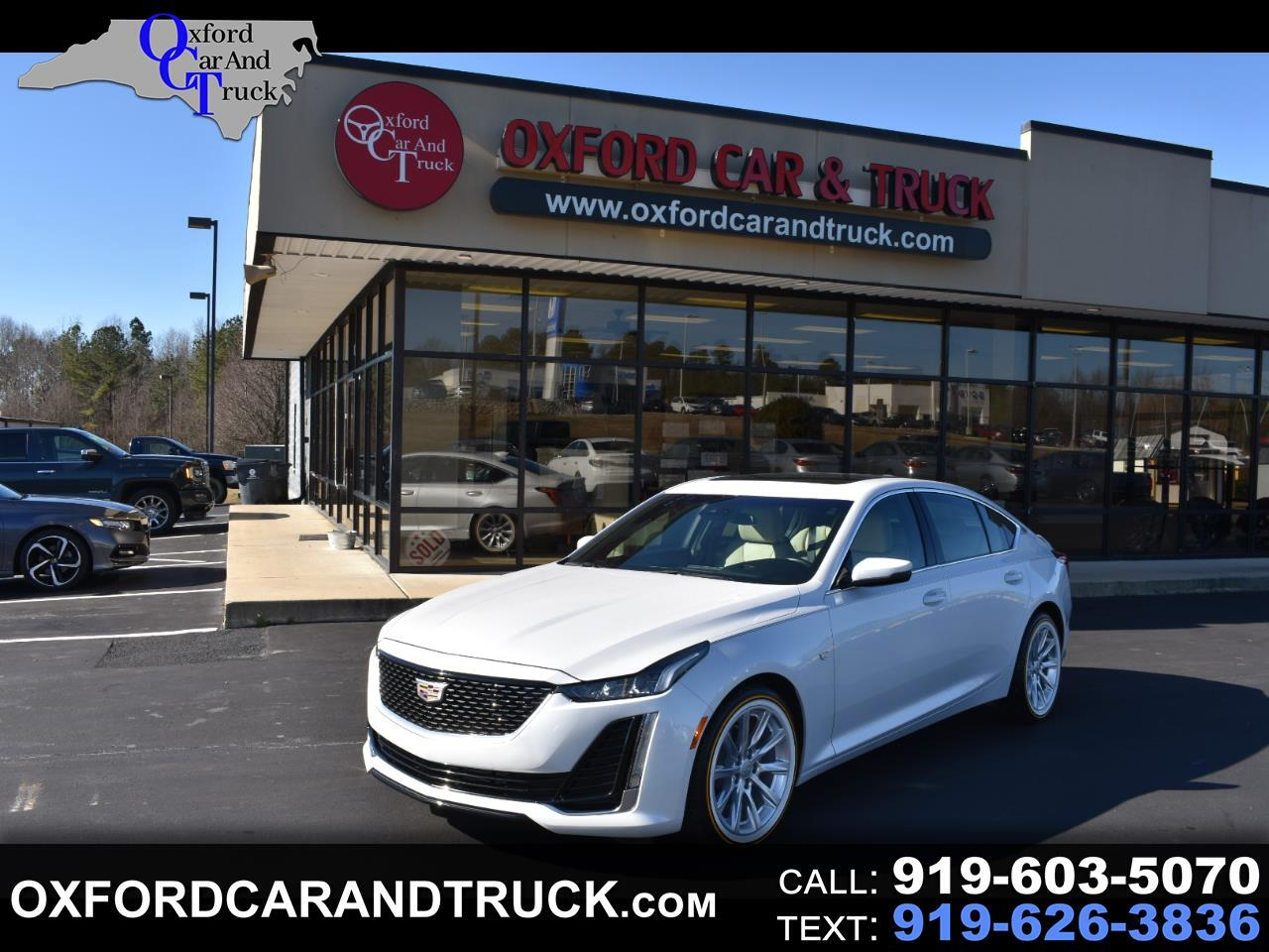 Cadillac CT5 4dr Sdn Luxury 2020