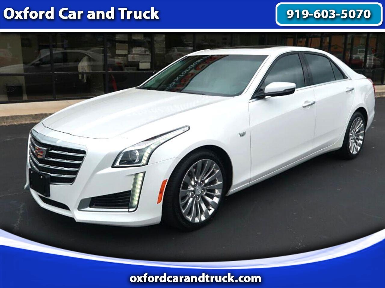 Cadillac CTS Sedan 4dr Sdn 2.0L Turbo Luxury RWD 2017