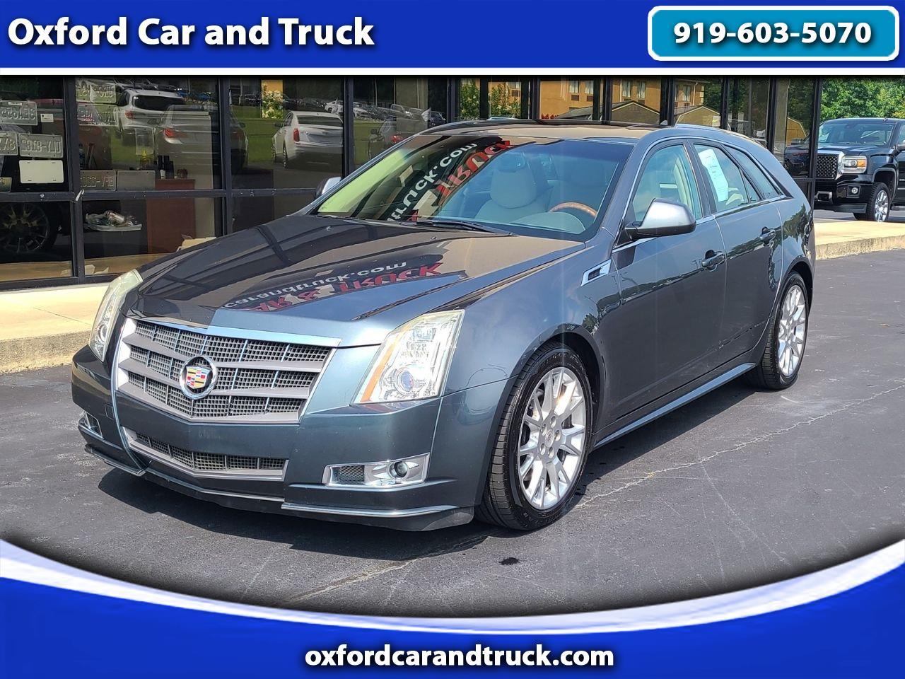 Cadillac CTS Wagon 5dr Wgn 3.6L Premium AWD 2011