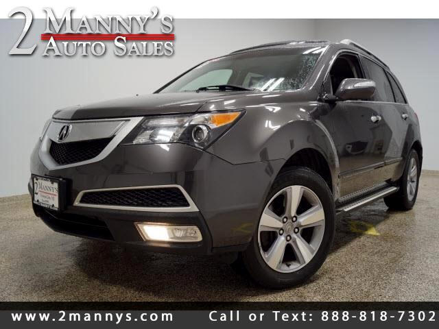 2012 Acura MDX 6-Spd AT w/Tech Package