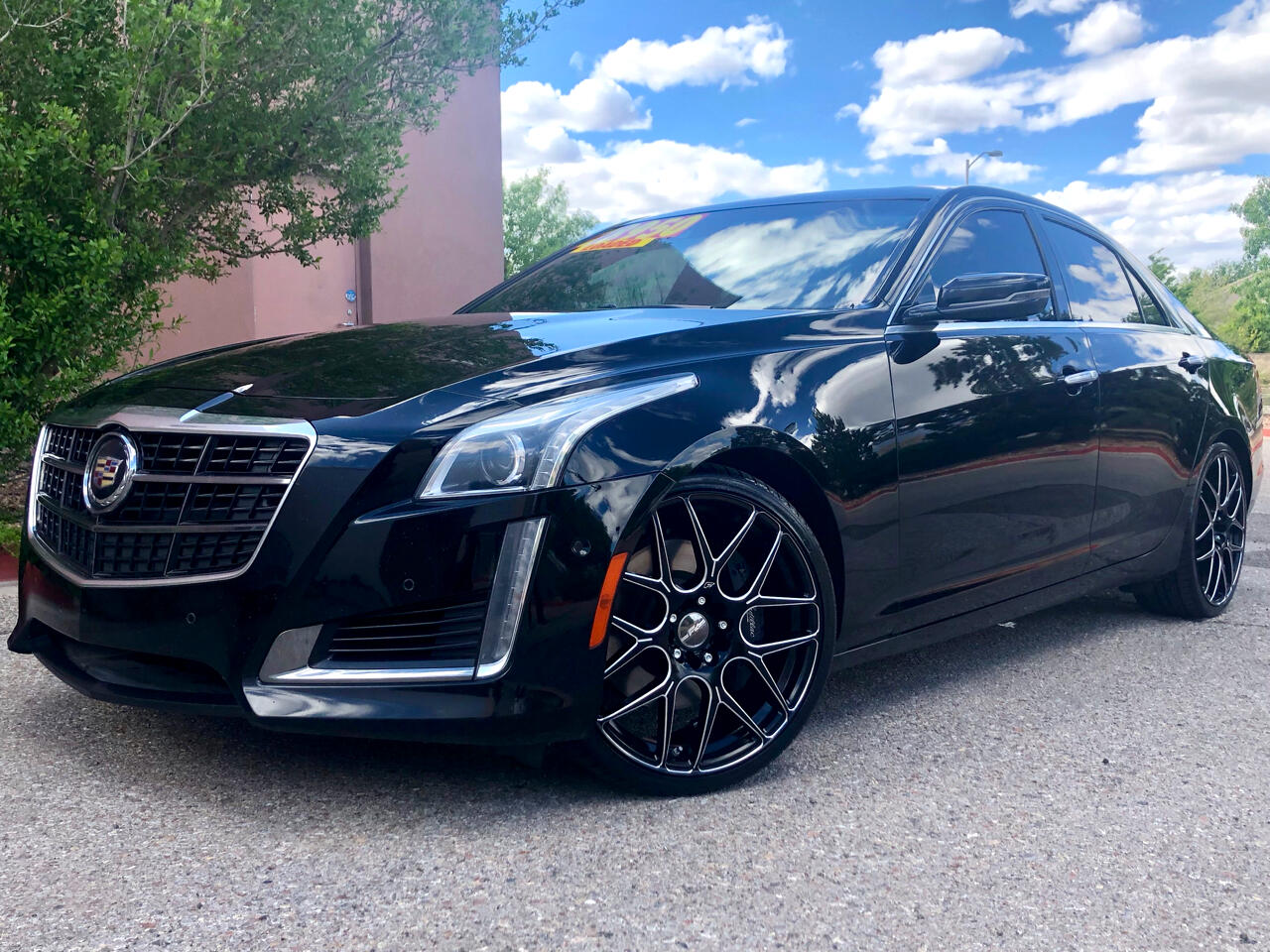 2014 Cadillac CTS Sedan 4dr Sdn 3.6L Twin Turbo Vsport Premium RWD